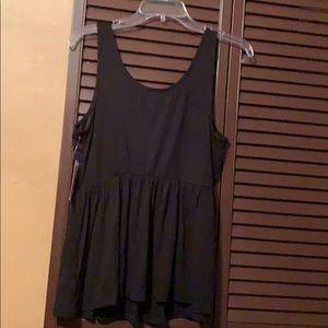 Decree Tops - Decree studded blouse SZ XL!